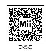 鶴見知利子(QRコード)