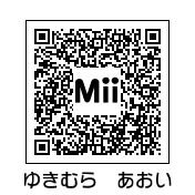 雪村あおい(QRコード)