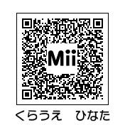 倉上ひなた(QRコード)