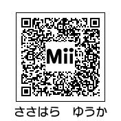 笹原ゆうか(QRコード)