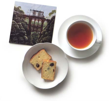 カード紅茶ケーキ
