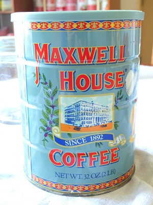 MAXWELL COFFEE缶
