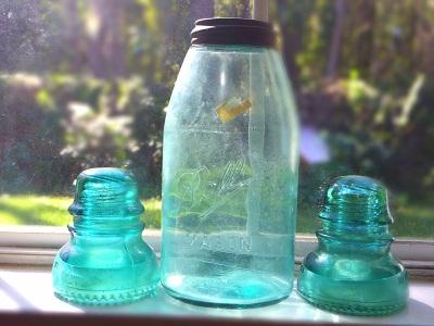 vintage jar