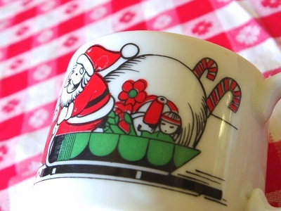 日本製クリスマスマグ