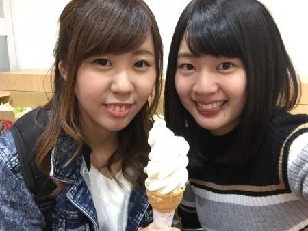 大須でアイスクリーム