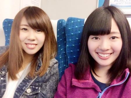 新幹線で名古屋に