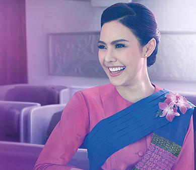 タイ国際航空ビジネスクラスのCA
