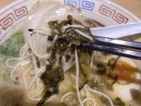 だるま@台場・20160703・高菜麺