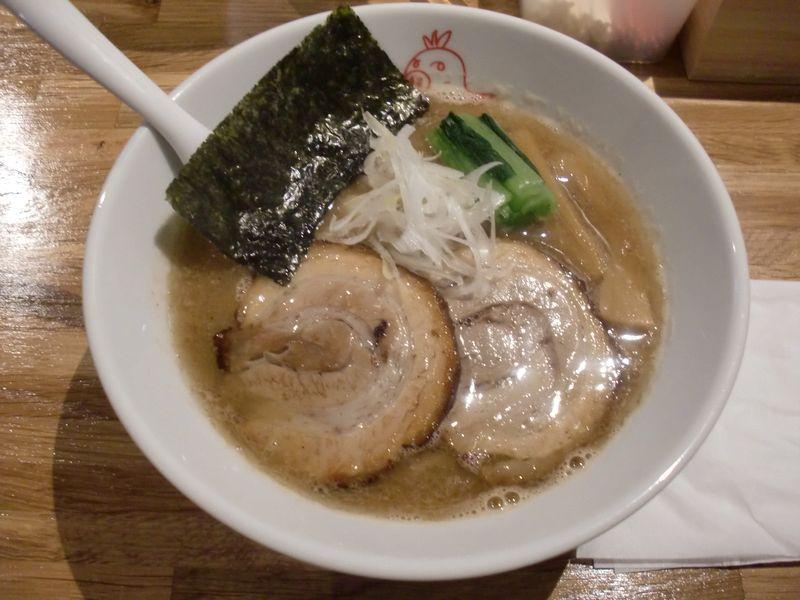 まがり@八丁堀・20160714・らぁ麺