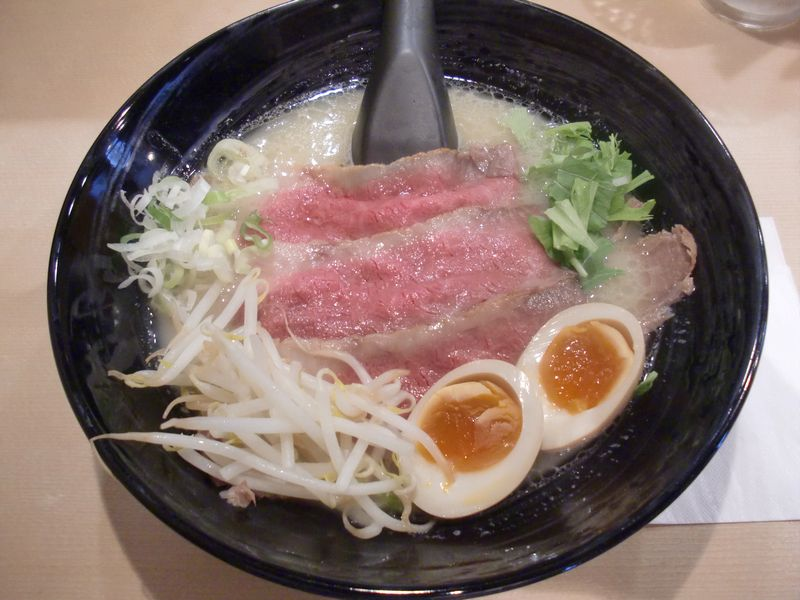 道玄@東銀座・20160731・チャーギュウ麺