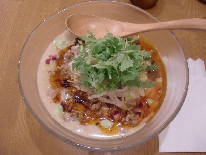 THANK@小川町・20160809・冷やし担々麺