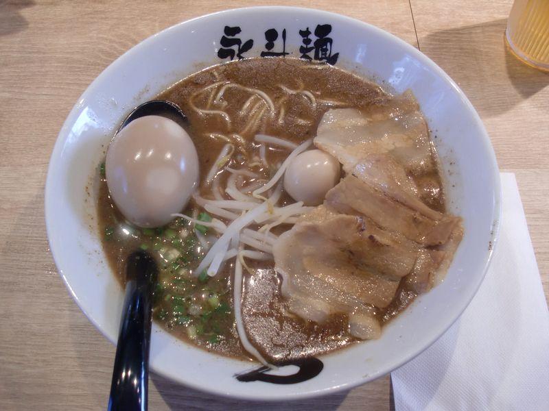 永斗麺@渋谷・20161006・サンマらーめん