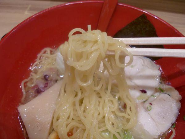 華味鳥@豊洲・20161018・麺