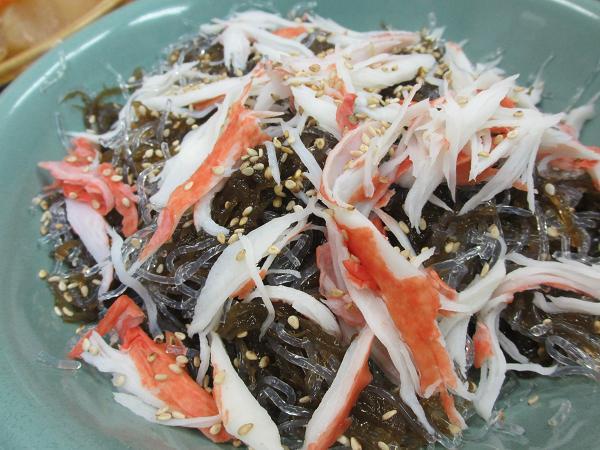 海草の酢の物