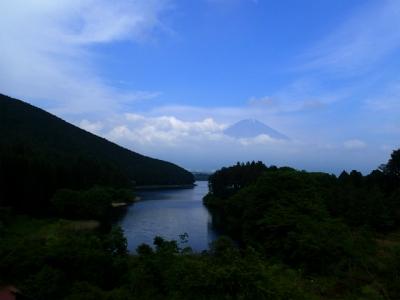 田貫湖&富士山の絶景