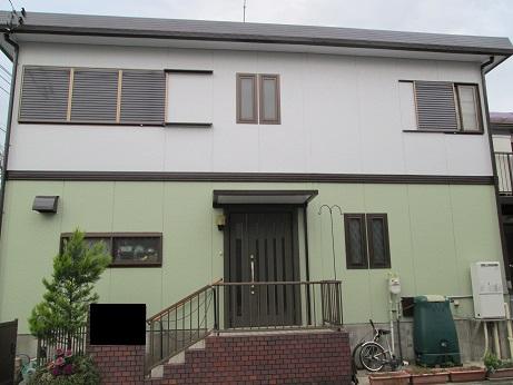 みらい住建 リフォーム 源さん7号 外壁塗装完工①