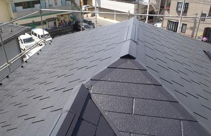 みらい住建 リフォーム 屋根塗装 施工完了 ⑤