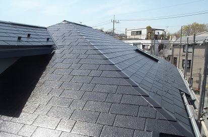 みらい住建 リフォーム 屋根塗装 施工完了 ⑥