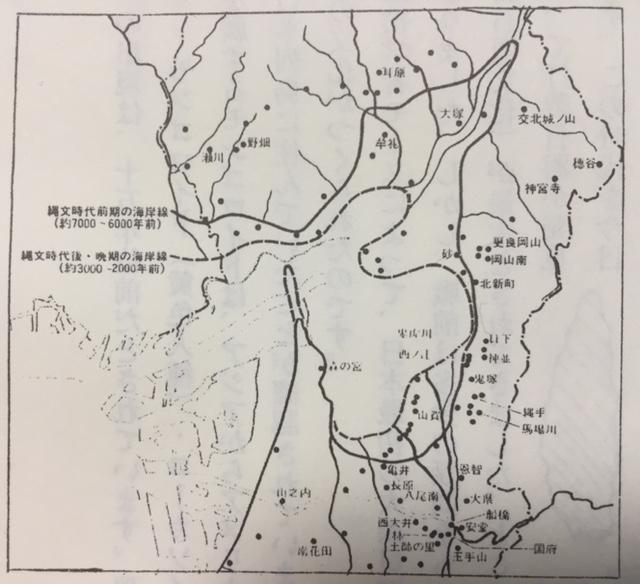 大阪湾古代地図