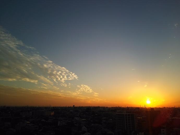 161014夕陽
