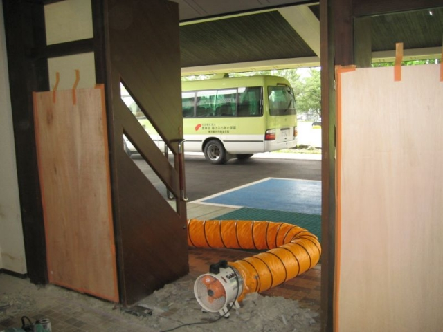 玄関改修工事1