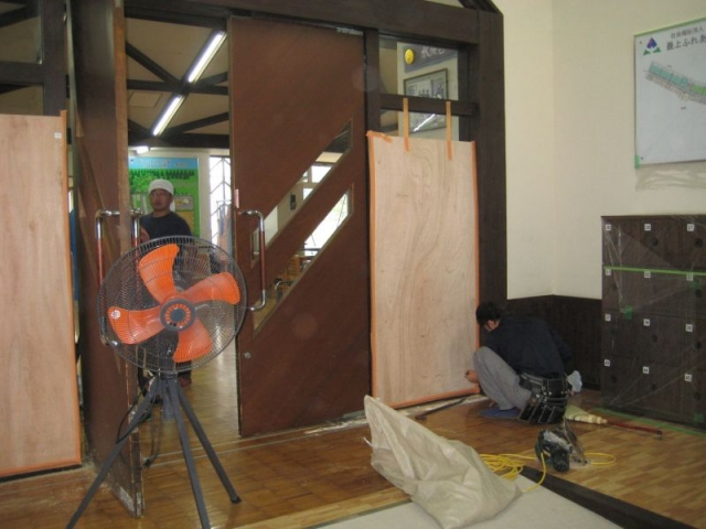 玄関改修工事2