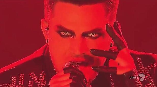 Adam Lambert X Factor Evil In The Night アダム・ランバート ハロウィーン