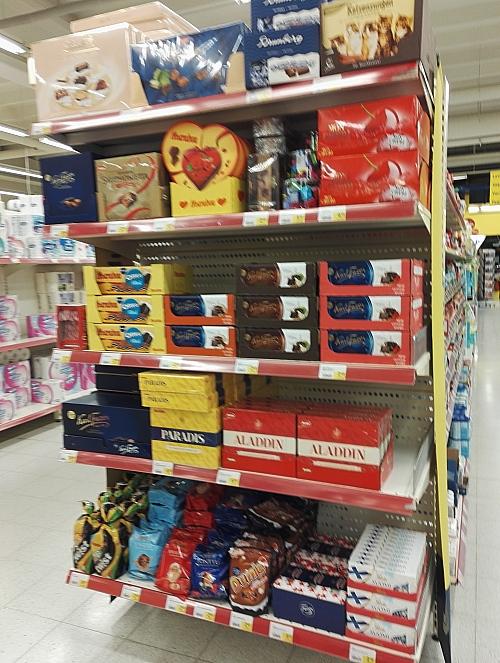 フィンランド クリスマス チョコ