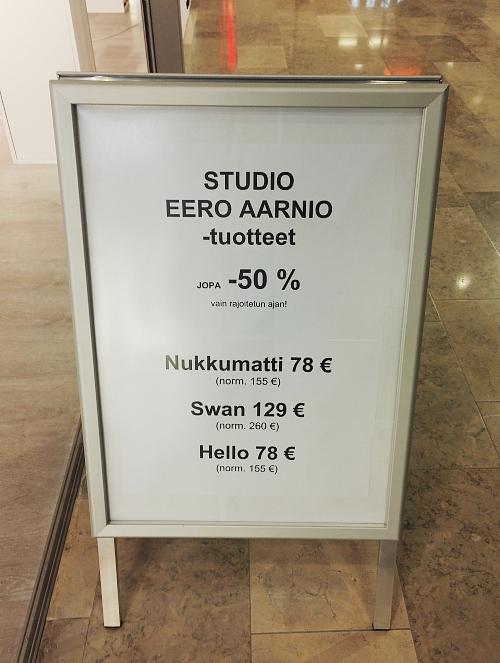 フィンランド エスポー Cello Eero Aarnio ランプ