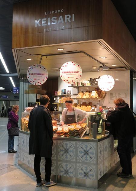フィンランド ヘルシンキ Kamppi パン屋