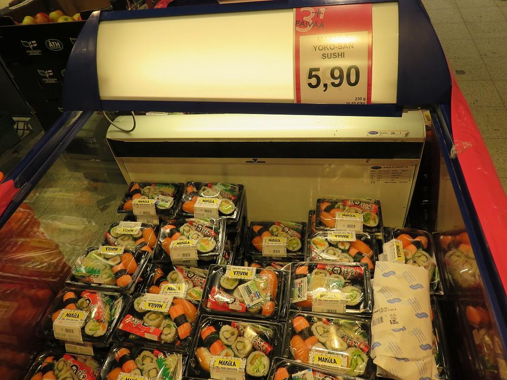 フィンランド スーパー セール品 Yokoさん寿司