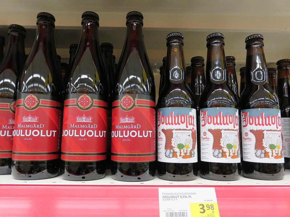 フィンランド スーパー クリスマスビール Jouluolut