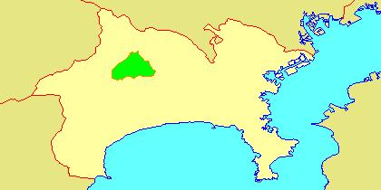 地図-神奈川県清川村-2006