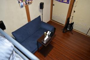 新しい部屋ベッドからの景色2