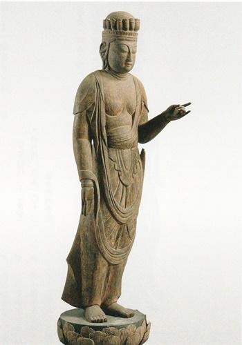 福井の仏像 観世音菩薩像4