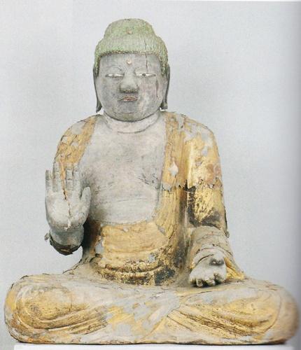 福井の仏像 釈迦如来2