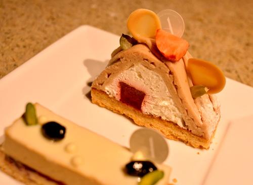 【ケーキ】アサコイワヤナギ「桜のモンブラン」