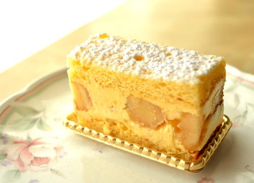 【ケーキ】イル・プルー「ゴッホのようなバナナ」