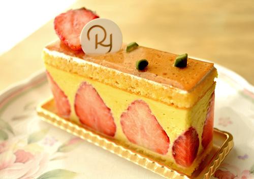 【ケーキ】リョウラ「フレジエ」