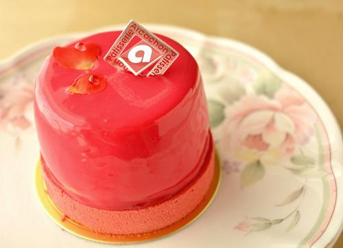 【ケーキ】アルカション「ローズ・ピンク」 (1)