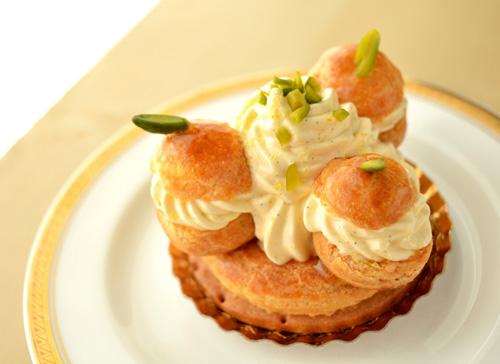 【ケーキ】イル・プルー「レモンのサントノレ」 (2)