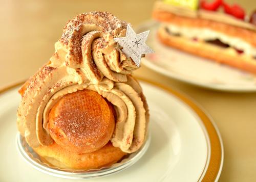 【ケーキ】アステリスク「サントノーレ」