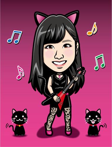 0901_リップ黒猫1