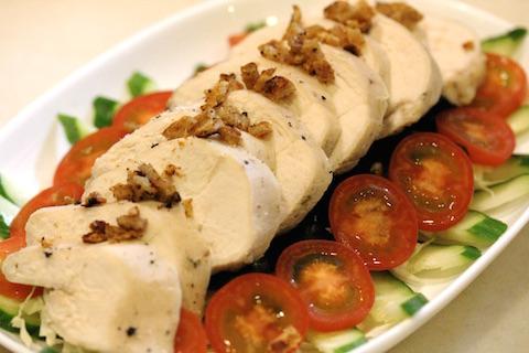鶏胸肉の低温ロースト