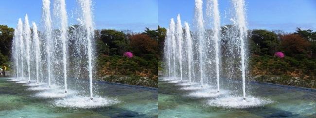 須磨離宮公園 噴水広場 メインフォール⑤(交差法)
