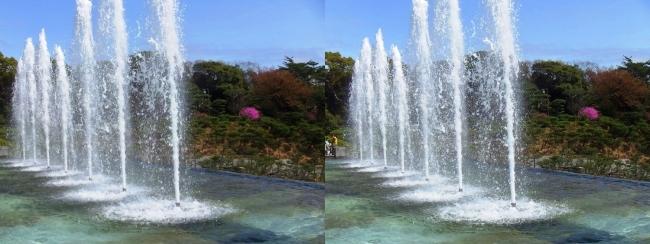 須磨離宮公園 噴水広場 メインフォール⑤(平行法)