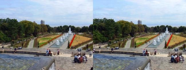 須磨離宮公園 噴水広場 メインフォール④(平行法)