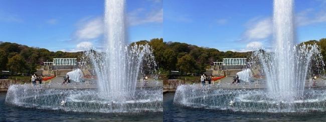 須磨離宮公園 噴水広場 大噴水①(平行法)