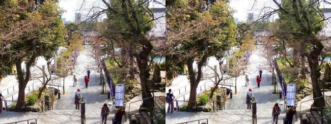 須磨寺 参道①(平行法)