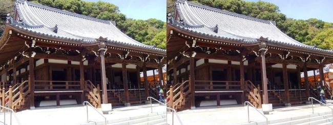 須磨寺 本堂(交差法)